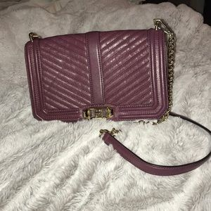 Rebecca Minkoff Leather Quilted Crossbody
